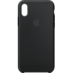 Apple Silikon Case Schwarz iPhone X 99927324 kategorie