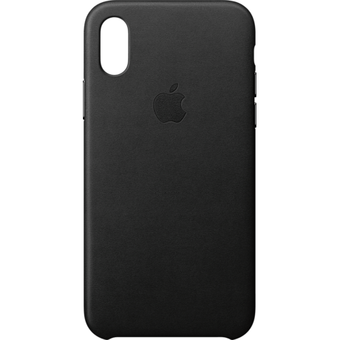 Apple Leder Case Schwarz iPhone X 99927361 hero
