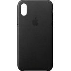 Apple Leder Case Schwarz iPhone X 99927361 kategorie