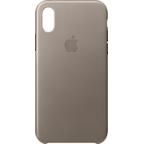 Apple Leder Case Taupe iPhone X 99927358 kategorie