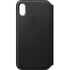 Apple Leder Folio Case Schwarz iPhone X 99927320 kategorie