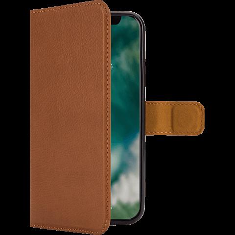 xqisit Slim Wallet Selection Braun Apple iPhone X 99927153 vorne