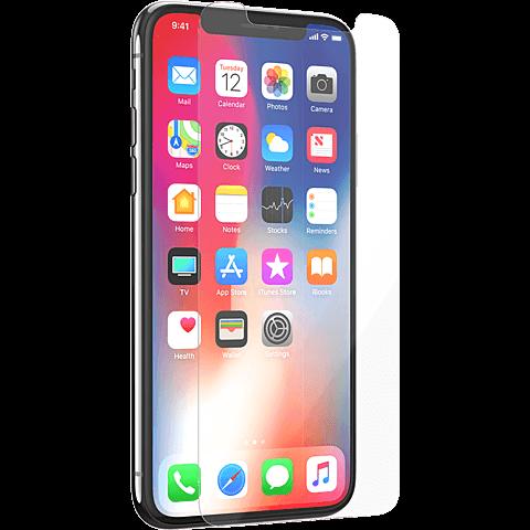 Tech21 Impact Shield Schutzfolie Apple iPhone X 99927065 vorne