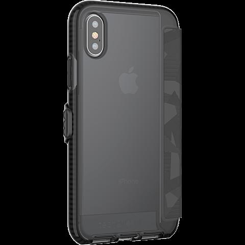Tech21 EVO Wallet Huelle Black Apple iPhone X 99927063 seitlich