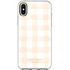 Sugar Paper Clear Case Watercolour Plaid Blush White Apple iPhone X 99927128 kategorie