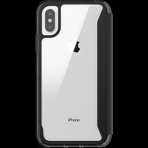 Griffin Survivor Folio Case Schwarz Apple iPhone X 99927101 hinten