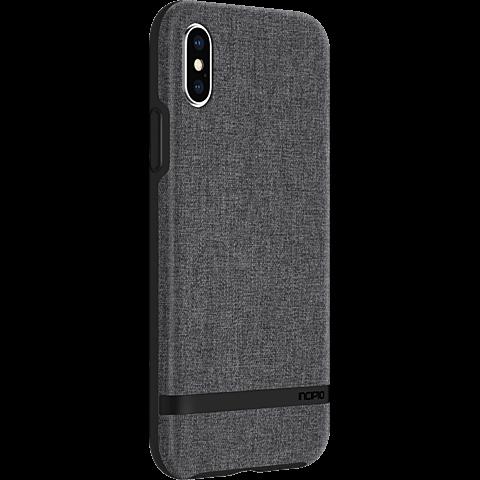 Incipio Esquire Series Case Grau Apple iPhone X 99927136 seitlich