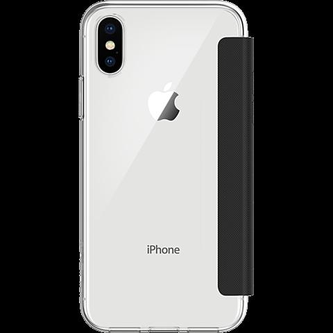 Incipio NGP Folio Cover Clear Black Apple iPhone X 99927130 hinten