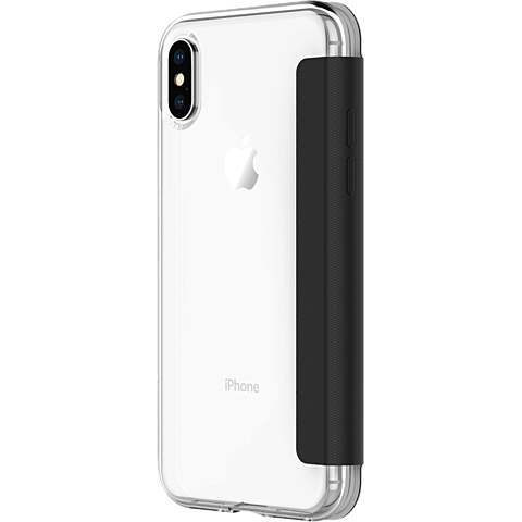 Incipio NGP Folio Cover Clear Black Apple iPhone X 99927130 seitlich