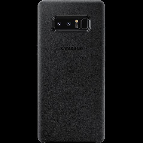 Samsung Alcantara Cover Schwarz Galaxy Note8 99927209 hero