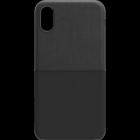 Incase Textured Snap Case Schwarz Apple iPhone X 99927104 hinten