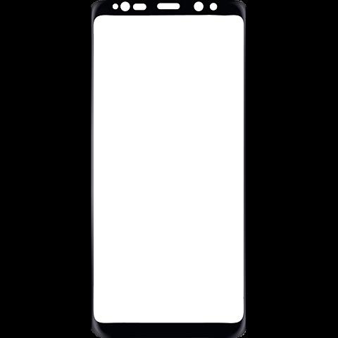 Displex Full Screen Glas Schwarz Galaxy Note8 99927210 vorne