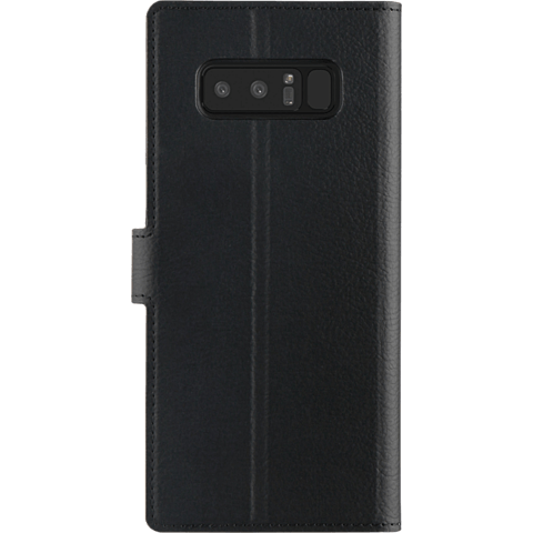 xqisit Slim Wallet Selection Schwarz Samsung Galaxy Note8 99927212 hinten