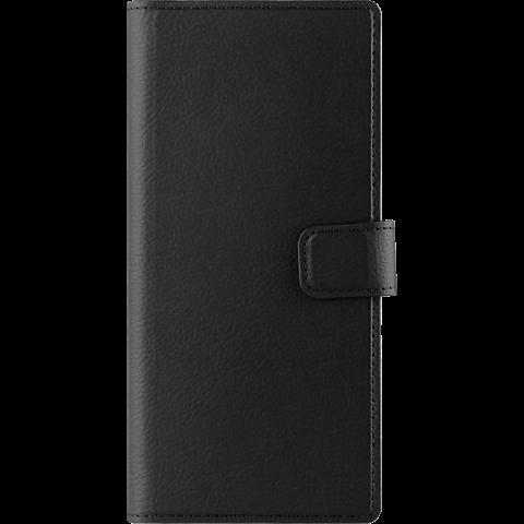 xqisit Slim Wallet Selection Schwarz Samsung Galaxy Note8 99927212 vorne