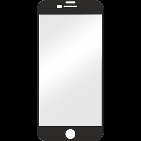 Displex Full Screen Glas Schwarz Apple iPhone 8 Plus 99927349 vorne