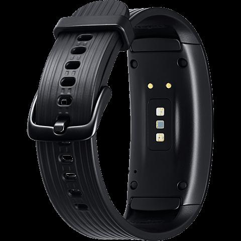 Samsung Gear Fit2 Pro Armbandgröße L Schwarz 99927396 hinten