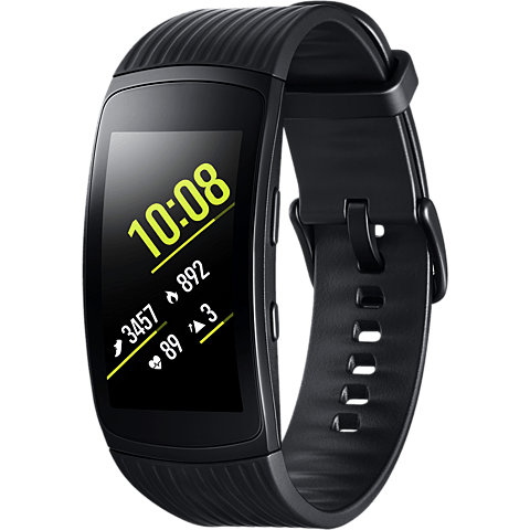Samsung Gear Fit2 Pro Armbandgröße S Schwarz 99927399 vorne