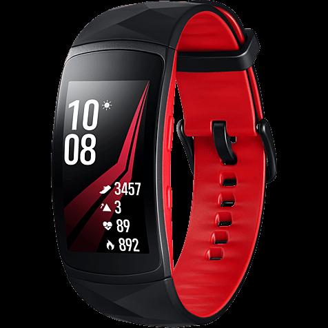 Samsung Gear Fit2 Pro Armbandgröße L Rot 99927400 hero