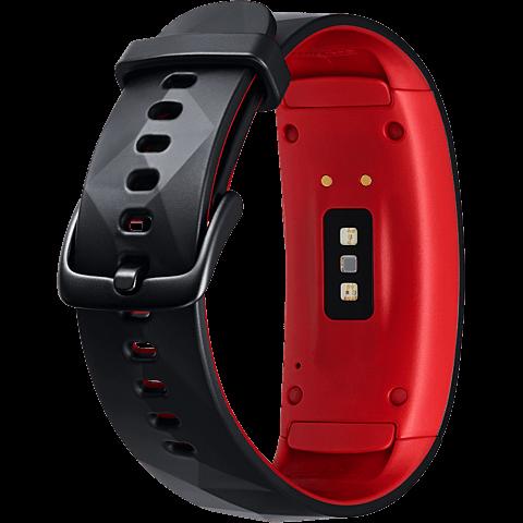 Samsung Gear Fit2 Pro Armbandgröße L Rot 99927400 hinten