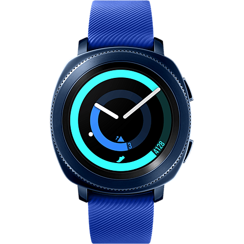 Samsung Gear Sport Smartwatch Blau 99927402 hero