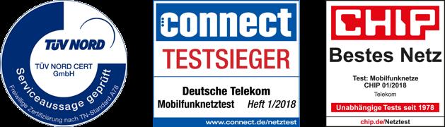 Connect Testsieger Mobilfunknetztest und Chip bestes Mobilfunknetz