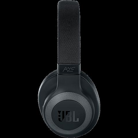 JBL E65 Bluetooth-Kopfhörer - Schwarz 99927457 seitlich