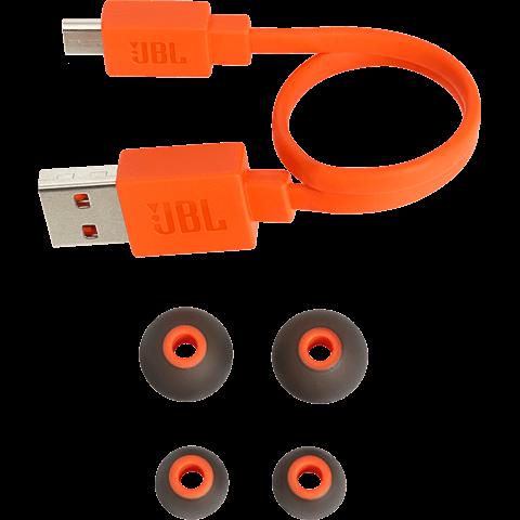 JBL T110 Bluetooth-Kopfhörer - Schwarz 99927456 seitlich