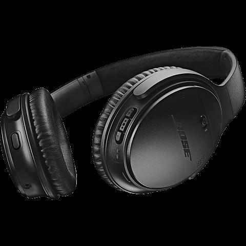 BOSE QuietComfort 35 II Wireless Kopfhörer - Schwarz 99927494 hinten