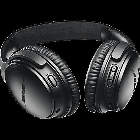 BOSE QuietComfort 35 II Wireless Kopfhörer - Schwarz 99927494 seitlich
