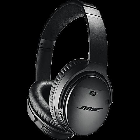 BOSE QuietComfort 35 II Wireless Kopfhörer - Schwarz 99927494 vorne