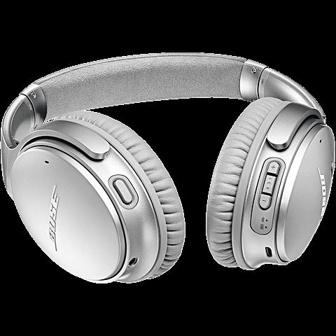 BOSE QuietComfort 35 II Wireless Kopfhörer - Silber 99927495 hinten