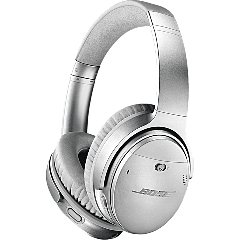 BOSE QuietComfort 35 II Wireless Kopfhörer - Silber 99927495 vorne