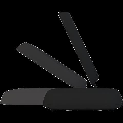 Zens Qi 10 W Wireless Ladestation Schwarz 99927512 seitlich