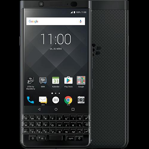 BlackBerry KEYone Schwarz Vorne und Hinten