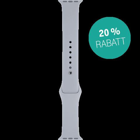 Apple Watch Armband 38 mm Nebel 99923929 vorne