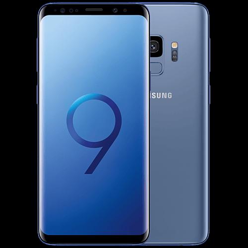 Samsung Galaxy S9 Blau Vorne und Hinten