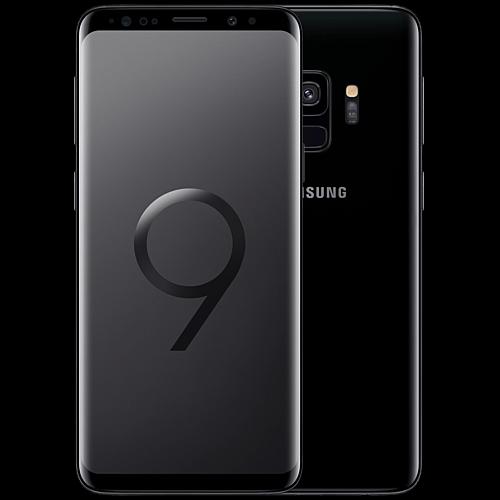 Samsung Galaxy S9 Schwarz Vorne und Hinten