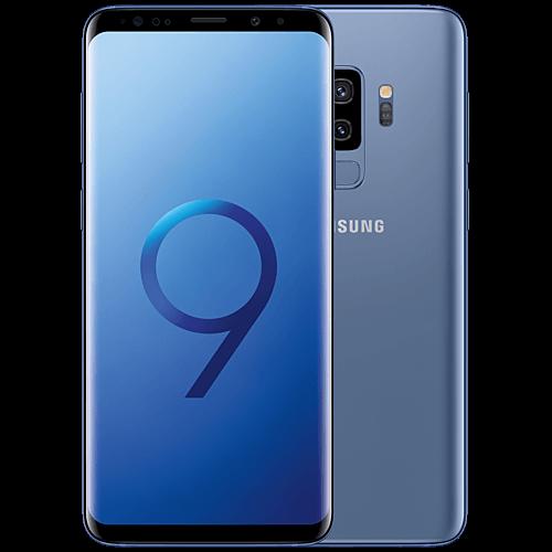 Samsung Galaxy S9 Plus Blau Vorne und Hinten
