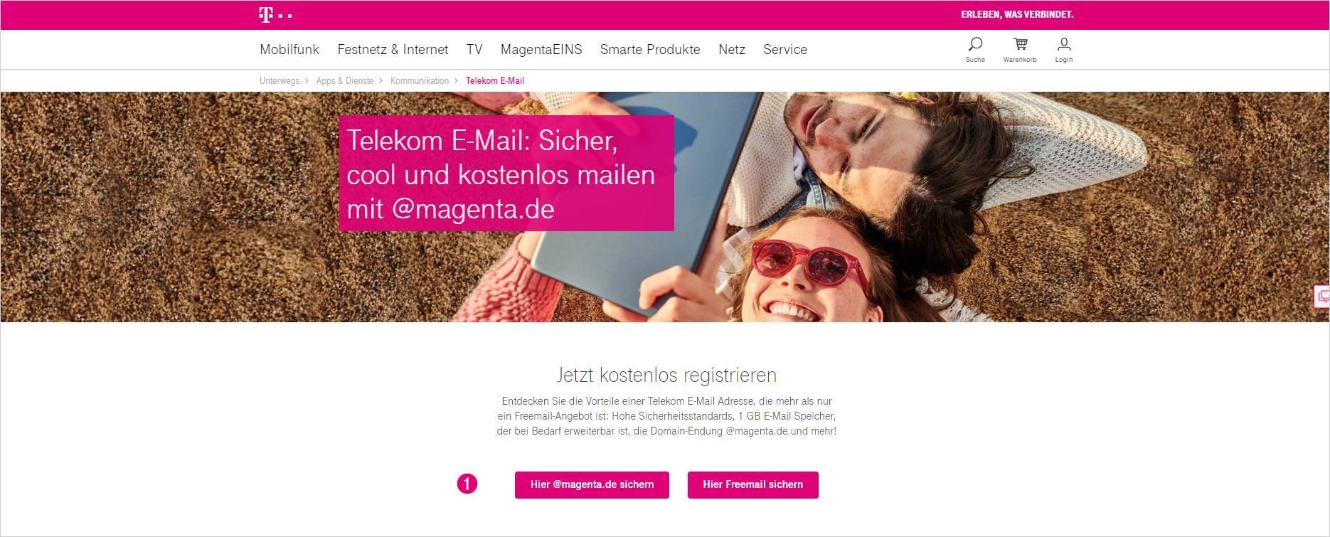 E Mail Adresse Einrichten Telekom Hilfe