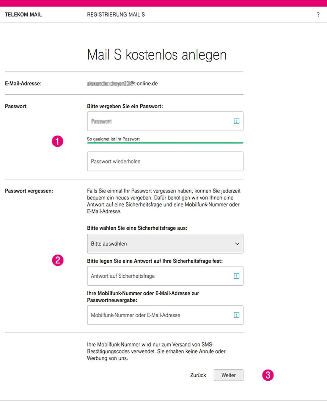 Telekom Service Email Adresse
