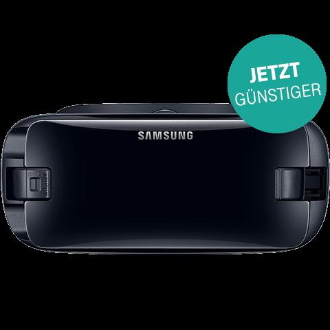 Samsung Gear VR (SM-R325) mit Controller Schwarz 99928924 vorne aktion