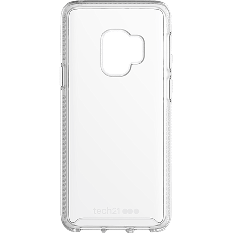Tech21 Pure Clear Hülle Transparent Samsung Galaxy S9 99927644 vorne