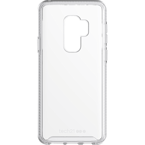 Tech21 Pure Clear Hülle Transparent Samsung Galaxy S9+ 99927648 vorne