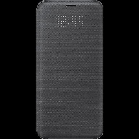 Samsung LED View Cover Schwarz Galaxy S9 99927650 vorne
