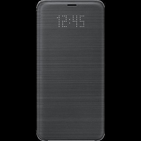 Samsung LED View Cover Schwarz Galaxy S9+ 99927667 vorne