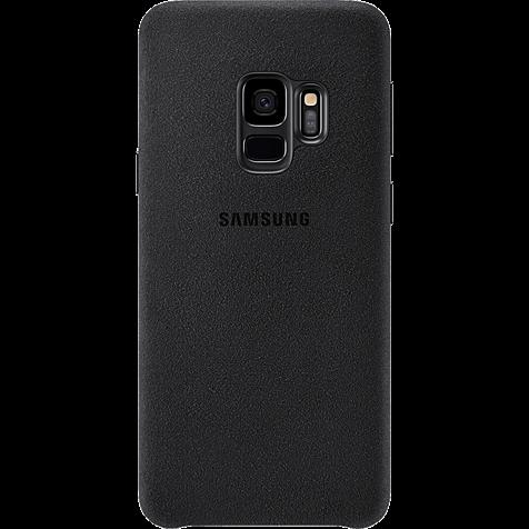 Samsung Alcantara Cover Schwarz Galaxy S9 99927674 hero