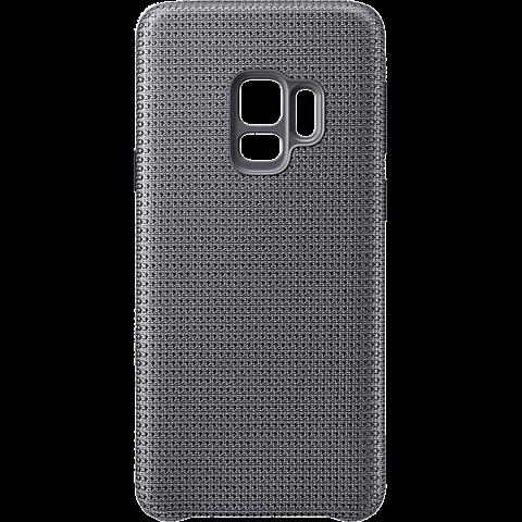Samsung HyperKnit Cover Grau Galaxy S9 99927666 hinten