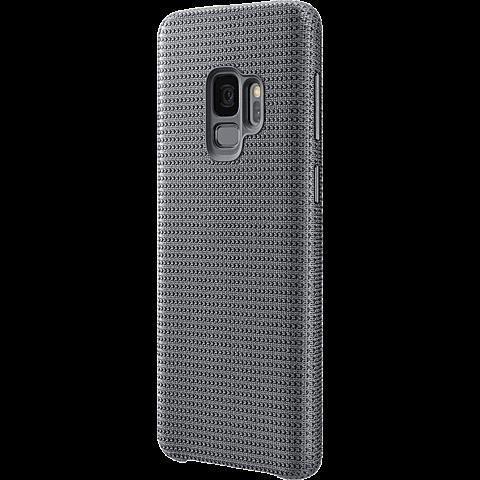 Samsung HyperKnit Cover Grau Galaxy S9 99927666 seitlich