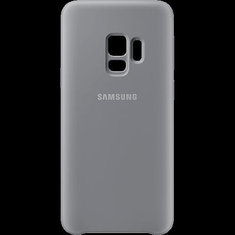 Samsung Silicone Cover Grau Galaxy S9 99927676 vorne