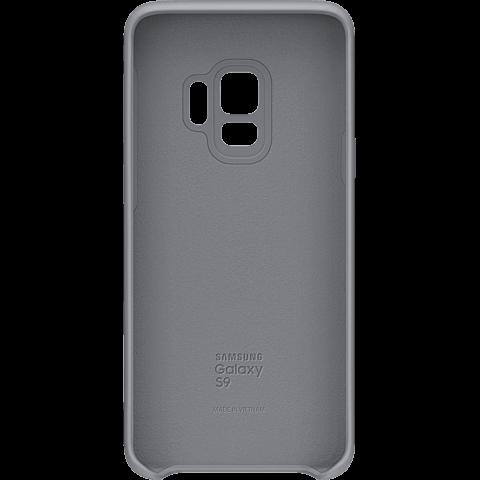 Samsung Silicone Cover Grau Galaxy S9 99927676 hinten